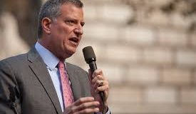 In Interview, Bill de Blasio Comes Out Against Private Property, Andrew Cuomo