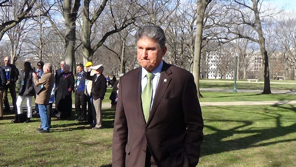 Joe Manchin Is A Scared Hypocrite