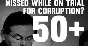 Corruption Trial Causes Robert Menendez To Miss 54 Senate Votes And Counting