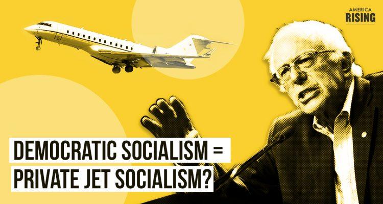Bernie Sanders' Private Jet Socialism