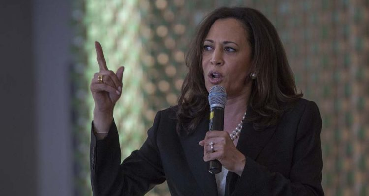Harris Fundraises With The Establishment As Tensions With Bernieland Grow