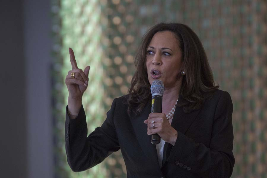 California to Kamala: Stay in the Senate
