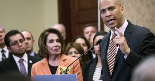 "Booker Recites Pelosi Talking Points Calling Bonuses ""Crumbs"""
