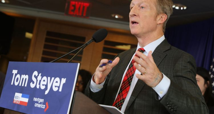 Steyer Spars with Pelosi Over Impeachment