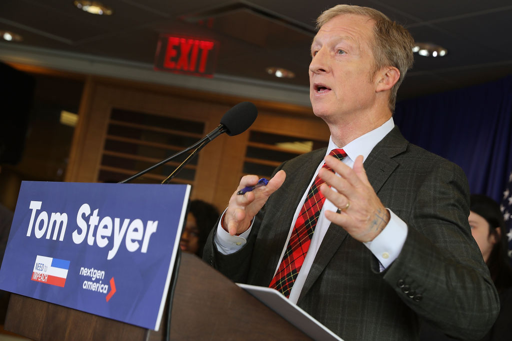 Steyer Pre-Empts Democratic Debates With A Push For Impeachment