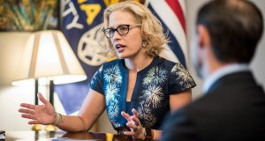 Sinema's Radical Anti-War Past Resurface