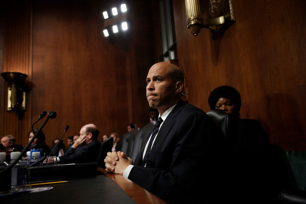 With Booker, It's The Company He Keeps…