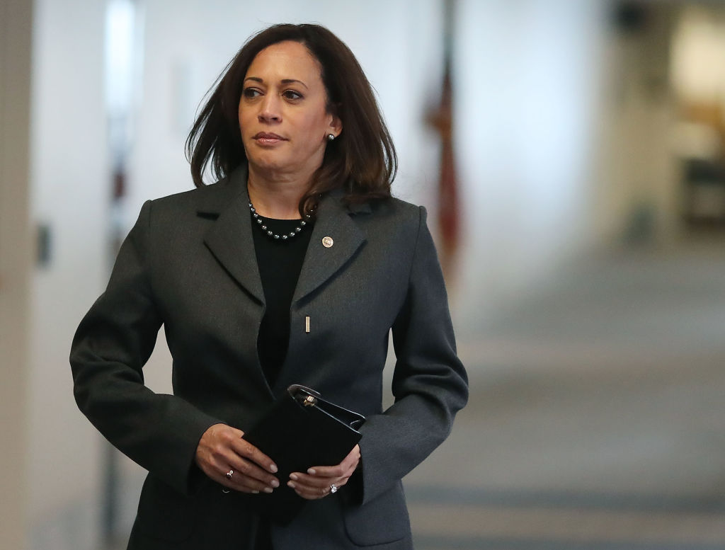 VIDEO: Harris Unaware of Sexual Harassment Scandal Because Her Office Had 5k People