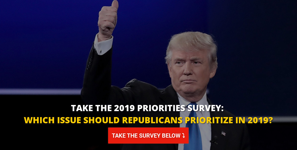 SURVEY: Which Issue Should Republicans Prioritize In 2019?