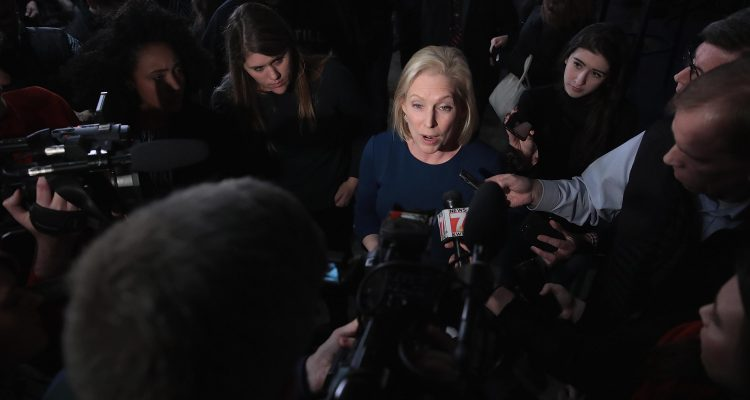 "VIDEO: Kirsten Gillibrand Says Allegations Against Her Office ""Didn't Rise To The Level Of Sexual Harassment"""