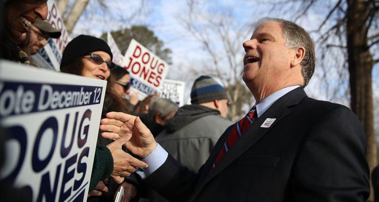 Senator Doug Jones Defends Joe Biden, Calls Harassment Allegations a Distraction