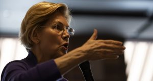 Politico: Trump campaign zeroes in on a new threat: Elizabeth Warren