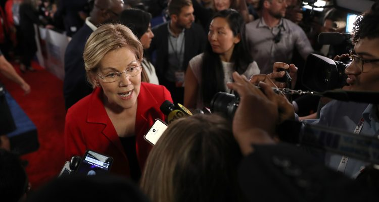 Taxes Will Increase Under Medicare for All, But Don't Ask Elizabeth Warren to Admit It