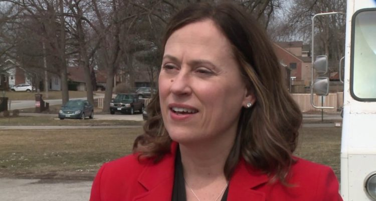 Theresa Greenfield Celebrates Endorsement and Donation from Population Control Group