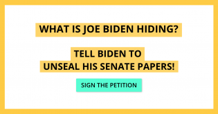 PETITION: Tell Biden to Unseal His Senate Papers!