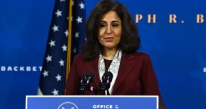 Neera Tanden Faces Scrutiny in the Senate for Her Deleted Tweets and Corporate Money Ties